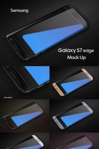 Samsung Galaxy S7 Edge Mock Up