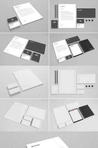 Branding Stationery Mock Up vol1