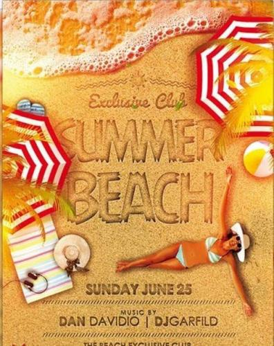 Summer Beach V4 Premium Flyer Template