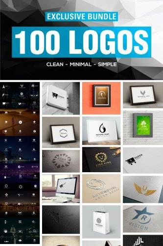 100 Breathtaking logo collection