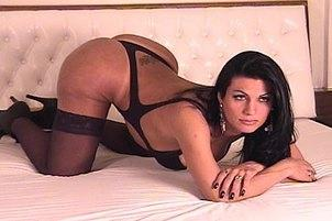 Awesomeinterracial.com- Transsexual Poses For A Photo Shoot