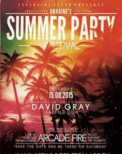 Summer Party Festival Premium Flyer Template