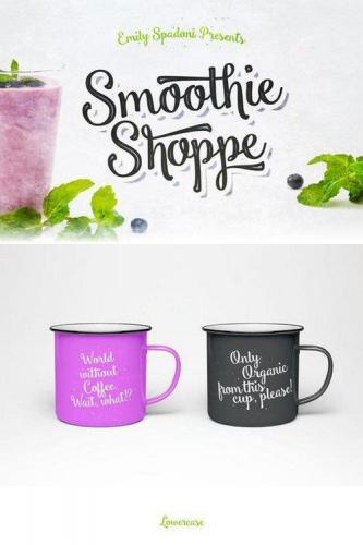 Smoothie Shoppe Font