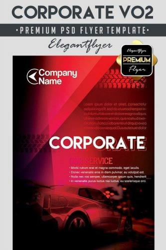 Corporate V02 Flyer PSD Template