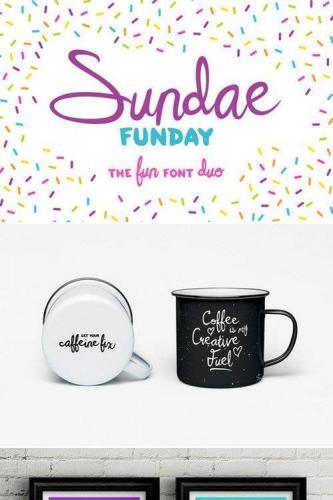 Sundae Funday Font Family