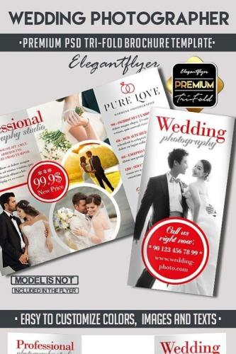 Wedding Photography Tri-Fold Brochure