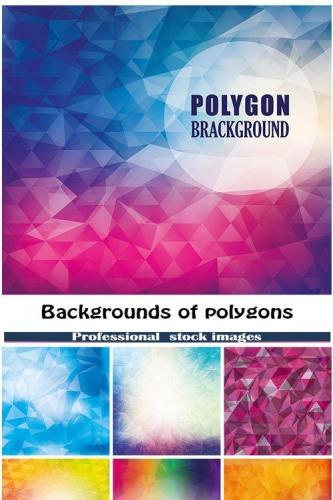 Backgrounds of polygons