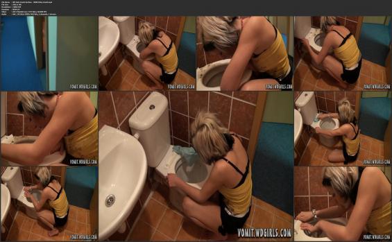 WdGirls.com - WD Girls Vomit Archive - 0008 Vicky Vomit