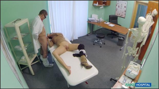 Fakehub.com- Doctor Perscribes Depressed Patient A Lood Licking And A Hard Fucking