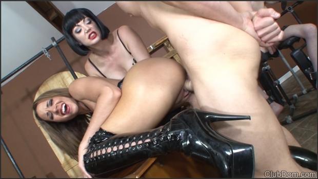 Clubdom.com- Jean Bardot  Kylie Femdom Sex Part 2