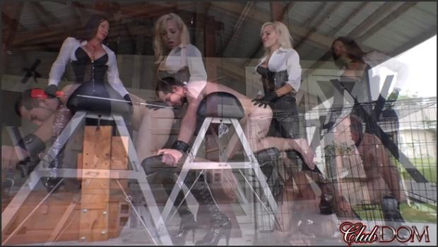 Clubdom.com- Anally Stretching And Tormenting Their Slaves