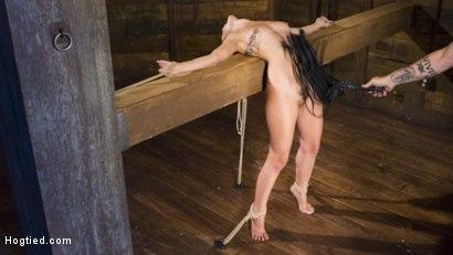 Kink.com- College GirlPain Slut Suffers in EXTREME Bondage  Brutal Domination