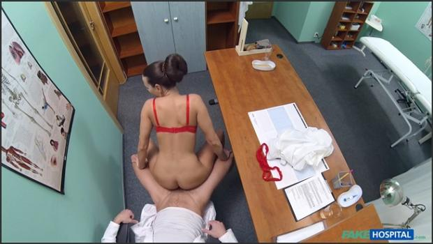 Fakehub.com- Hot new nurse shows doctor why she_s best for the job