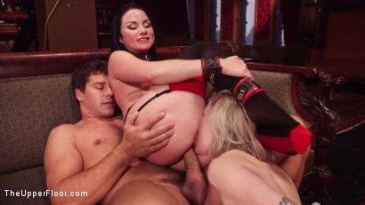 Kink.com- Submissive Secretary Anal Trained By Jealous Wife
