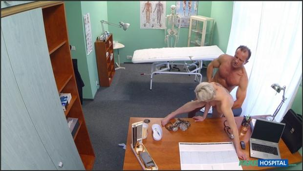 Fakehub.com- Blonde tattoo babe fucked hard by her doctor