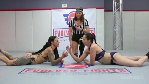 EvolvedFightsLez 20 08 04 Jenevieve Hexxx And Kyra Rose Arm Wrestling XXX 1080p MP4-WEIRD