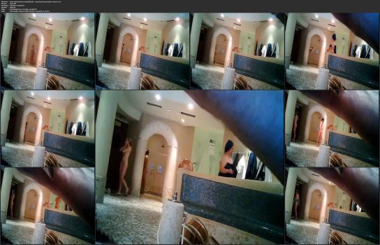 Shower room and locker room videos HD - observation of wives and girlfriends - sensational sauna shower voyeur 1