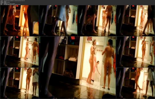 Shower room and locker room videos HD - observation of wives and girlfriends - sensational sauna shower voyeur 3