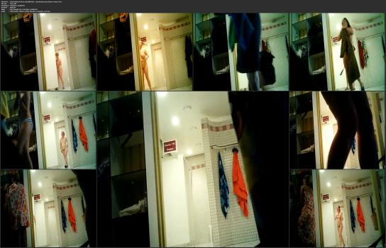 Shower room and locker room videos HD - observation of wives and girlfriends - sensational sauna shower voyeur 4