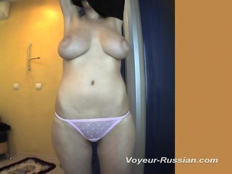 Hidden-Zone.com- Pv514# A girl with huge tits undresses opposite the mirror in the solarium. Our operator is behind t