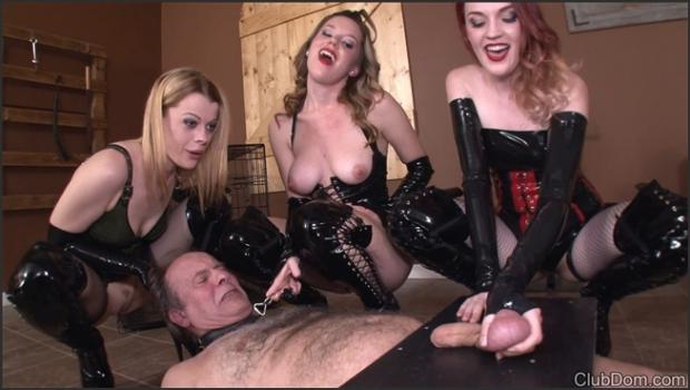 Clubdom.com- Tied Down and Trampling Balls