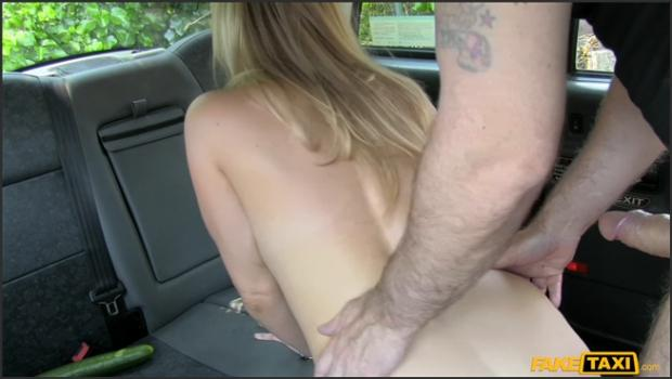 Fakehub.com- Double penetration and hard anal fucking for free taxi ride