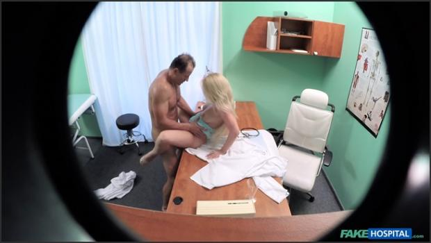 Fakehub.com- Blonde with nice tits gets a full examination
