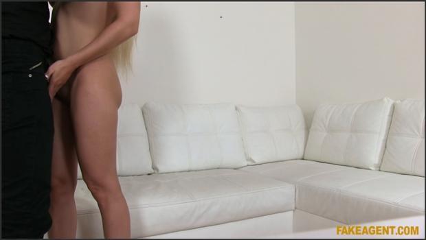 Fakehub.com- Amazing natural tits blonde fucks for a job