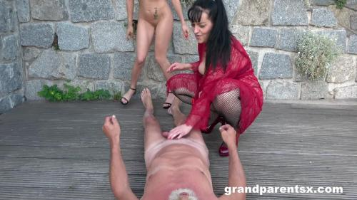 GrandParentsX 20 08 19 Old Slut Showing Everybody How To Fuck XXX 1080p MP4-KTR