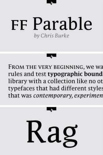 FF Parable Font Family