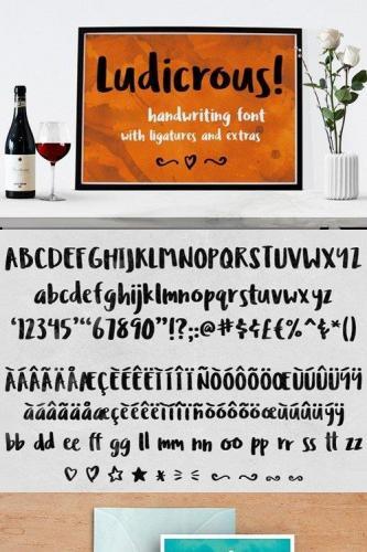 Ludicrous Font
