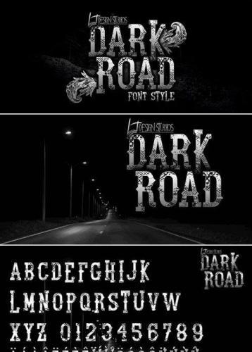 Dark Road Font