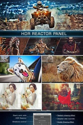 HDR Reactor Panel 4 in 1