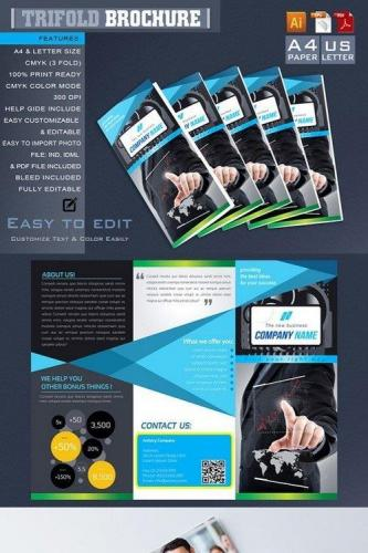 Trifold Brochure 668871