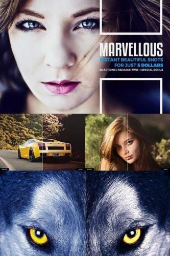 Marvellous Actions Package Two