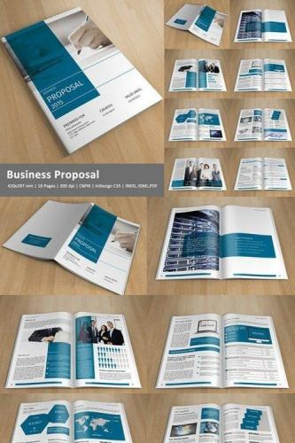 Corporate Brochure -InDesign-V144