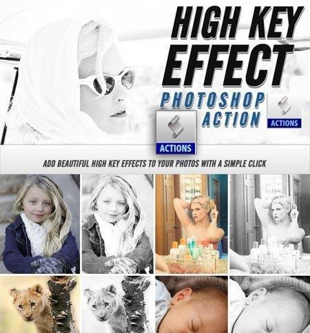 High Key Effect Photoshop Action