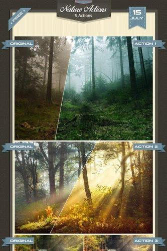 Nature Photoshop Actions