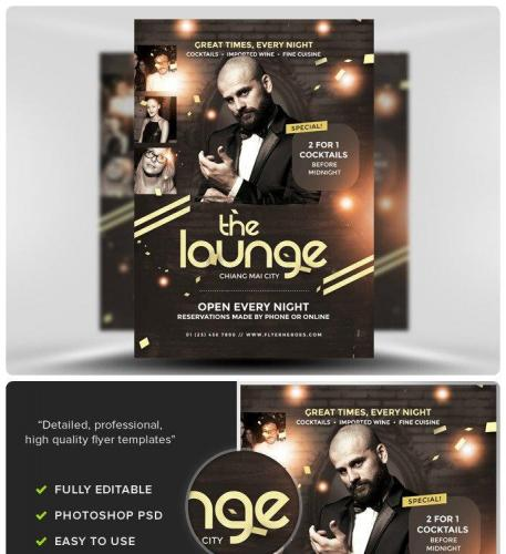 Lounge Flyer