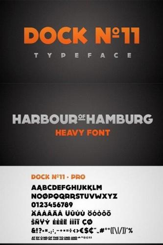 Dock No11 Font
