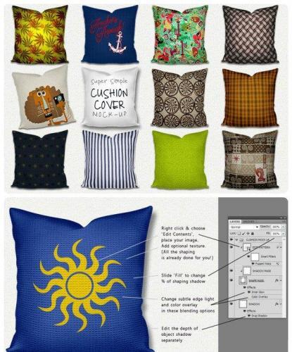 Mock up Throw Pillow Cushion