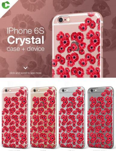 Iphone 6-6S crystal case