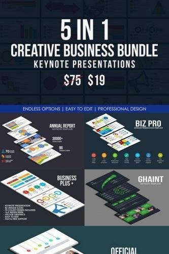Creative Business Keynote Bundle