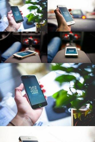 Smartphones - Mockups V02