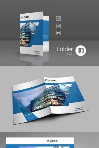 Presentation Folder Template 001
