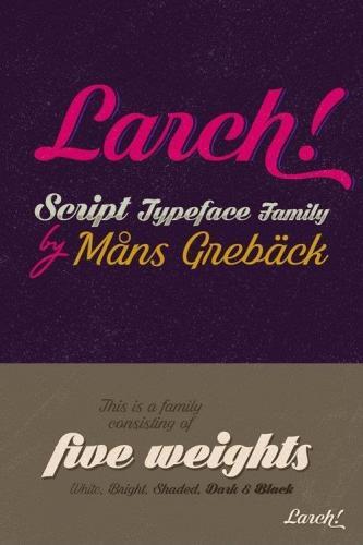 White Larch Font