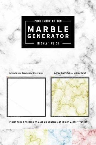 Marble Texture Generator in 1 Click
