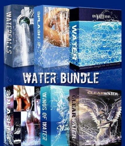 Ron's Water Bundle Photoshop Brushes