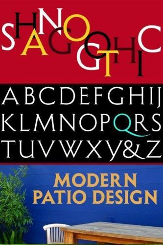 Shango Gothic Font Family