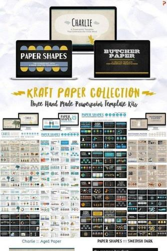 Kraft Paper Powerpoint Collection